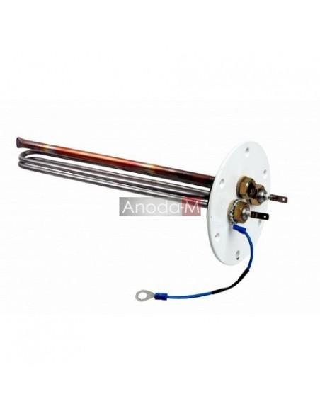 Grzałka 1,5kW 230V do zbiornika emaliowanego na flanszy zewn. Ø125mm/5 śrub