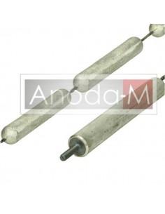 Anoda magnezowo-łańcuchowa 22x4 elementy M8x30