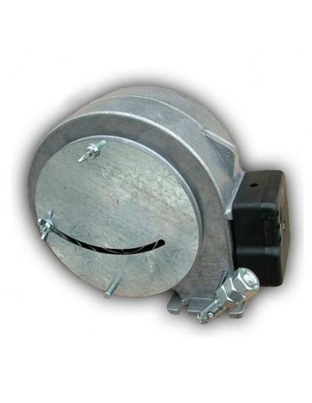 Wentylator nadmuchowy kotła WPA-120PK z przesłoną oraz klapką