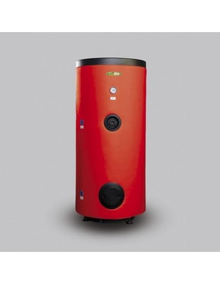 Wymiennik WGJ-S Elektromet 100 litrów z wężownicą spiralną, wolnostojący, pionowy