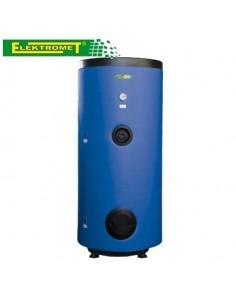 Wymiennik WGJ-S Elektromet 220 litrów z wężownicą spiralną, wolnostojący, pionowy