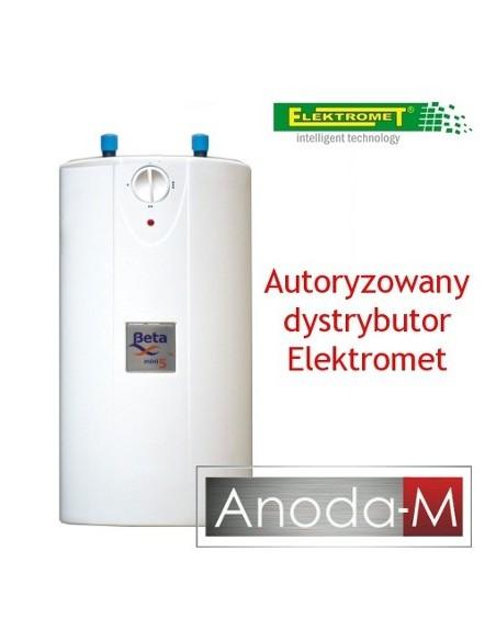 Elektryczny ogrzewacz wody Beta Mini Elektromet 5 litrów, podumywalkowy, ciśnieniowy