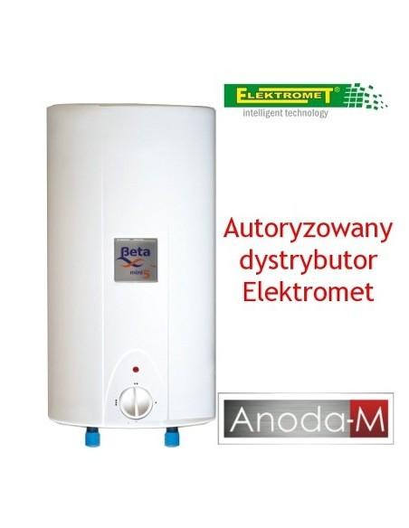 Elektryczny ogrzewacz wody Beta Mini Elektromet 10 litrów, nadumywalkowy, bezciśnieniowy
