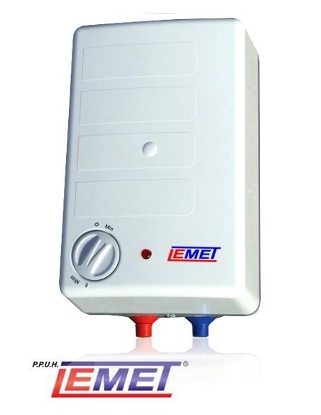Elektryczny ogrzewacz wody Lemet 10L Nadumywalkowy