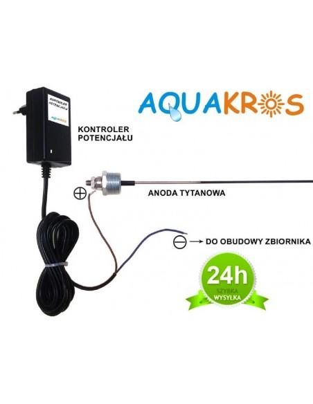 Aktywna Anoda Tytanowa Aquakros AME400 do 1000 litrów