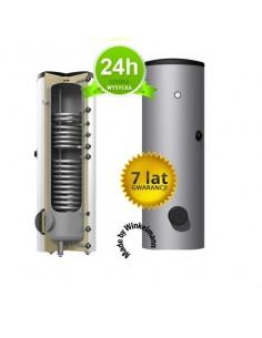 Pionowy ogrzewacz wody 200 litrów Winkelmann z podwójną wężownicą ZB-02-0200