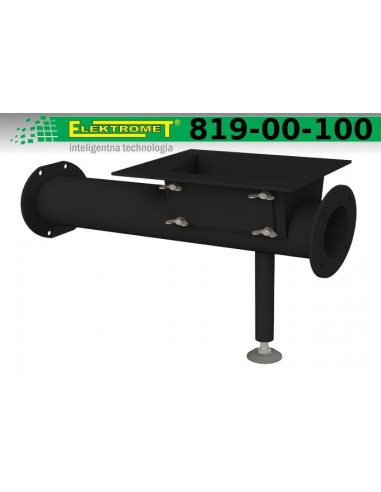 Rura - prowadnica ślimaka Elektromet KWP 12 - 20 kW KWPR 15 - 25kW